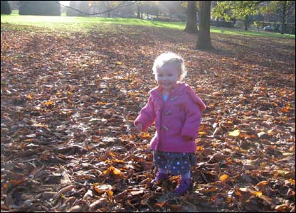 Eliza in Pontcanna Fields, taken by Justine Wilcox.
