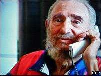 Fidel Castro. Picture issued 28 October 2006.