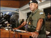 Fiji's military commander Frank Bainimarama