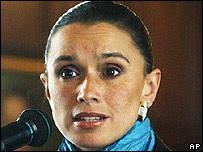 María Consuelo Araújo, canciller de Colombia.