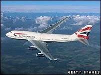 BA 747