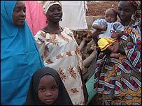 Sa'adiyya Shu'aibu Dambatta and her family