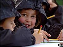 Nina Dahl, 4, from Pott Row First School, Pott Row