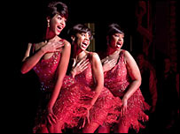 Beyonce Knowles, Anika Noni Rose and Jennifer Hudson in Dreamgirls