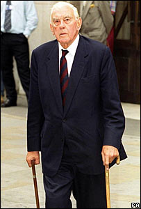 Lord Hussey in 1999