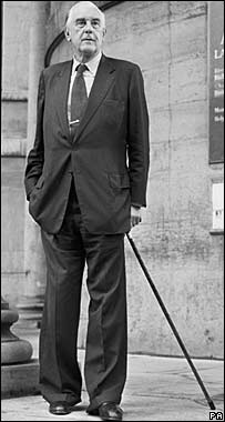 Marmaduke Hussey in 1986