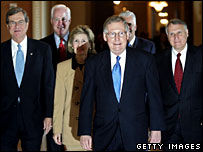 A group of Republican senators