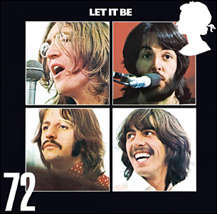 The 72p stamp for Let it Be