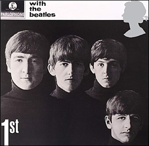 The first class stamp for With the Beatles