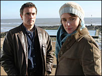 Ben Miles and Keeley Hawes in After Thomas