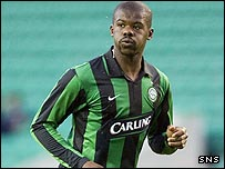 Celtic defender Bobo Balde