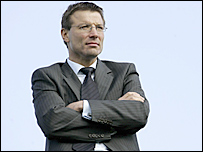 England's director of elite rugby Rob Andrew