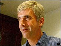 Leonid Nevzlin in Tel Aviv, Israel, 31 May 2005