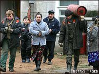Habitantes en Bielorrusia