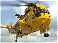 RAF Sea King helicopter (generic)