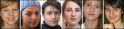Composite image of teens taking part