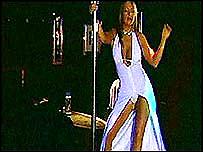 Pole dancer - file photo