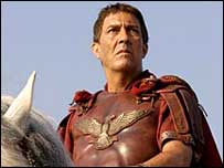 Ciaran Hinds as Caesar in Rome