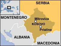 Mapa serbia kosovo