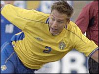 Sweden defender Andreas Granqvist