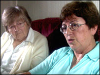 Sue Stemson and her mother Dorothy