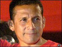 Ollanta Humala, campaigning in 2006