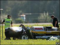 The car crash involving Richard Hammond