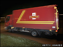 A Royal Mail lorry