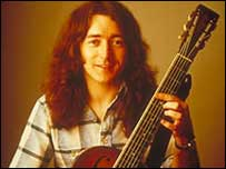Rory Gallagher died in 1995