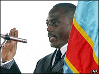 Joseph Kabila swears his oath of office in Kinshasa