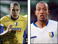 Mansfield duo Giles Coke and Alex Baptiste