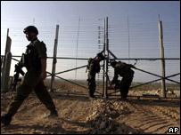 Gaza-Israel perimeter fence