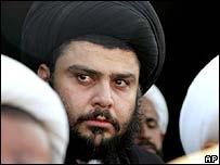 Shia cleric Moqtada al-Sadr