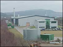 The Crymlyn Burrows incinerator