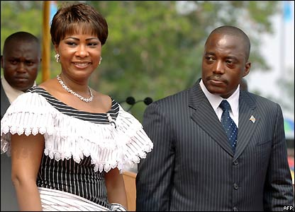Mr and Mrs Kabila