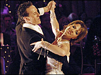 Brendan Cole and Natasha Kaplinsky