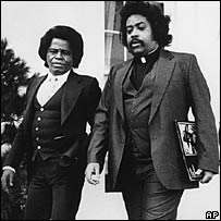 James Brown and Al Sharpton in 1982