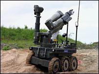 Bomb disposal robot Cutlass