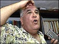 Elizardo S�nchez,  de la Comisi�n Cubana de Derechos Humanos y Reconciliaci�n Nacional