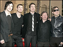 Snow Patrol at the American Music Awards