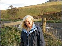 Gillian Wilson, chair of a group opposing two proposed wind farms in Perthshire