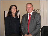 Dr Maureen Lindsay and Graham Lee, chief executive and chief financial officer of Ardana