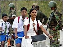 Tamil schoolchildren
