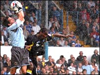 Cardiff goalkeeper Neil Alexander