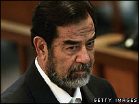 Former Iraqi President Saddam Hussein (December 2006)