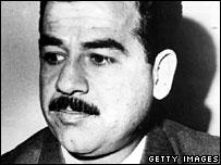Saddam Hussein in 1970