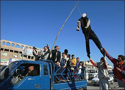 Iraquíes celebran