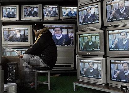 Vendedor de televisores
