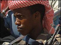 Islamist fighter