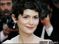 Audrey Tautou at the Cannes Film Festival